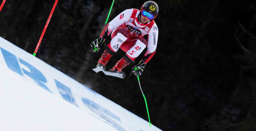 ALTA BADIA,ITALY,16.DEC.18 - ALPINE SKIING - FIS World Cup, giant slalom, men. Image shows Marcel Hirscher (AUT). Photo: GEPA pictures/ Wolfgang Grebien